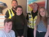 Nantwich officers grilled on radio by Brine Leas students
