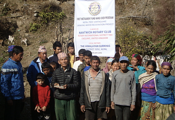 Nantwich Rotary raising money for Ghanpokhara Village in Nepal