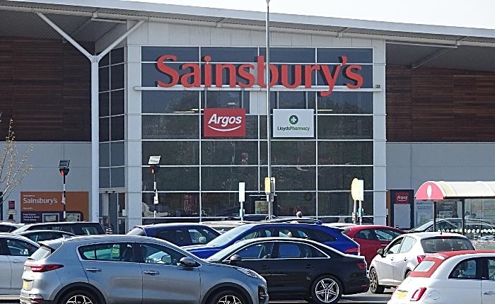 supermarkets - Nantwich Sainsburys