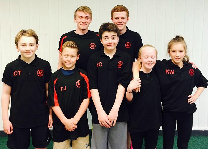 Nantwich Seals swimming team at Wrexham event