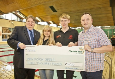 Nantwich Seals boosted by £3,000 Cheshire East Council funding