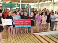 Nantwich Seals swim 101 miles for Cardiomyopathy UK