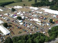 Nantwich Show aerial view