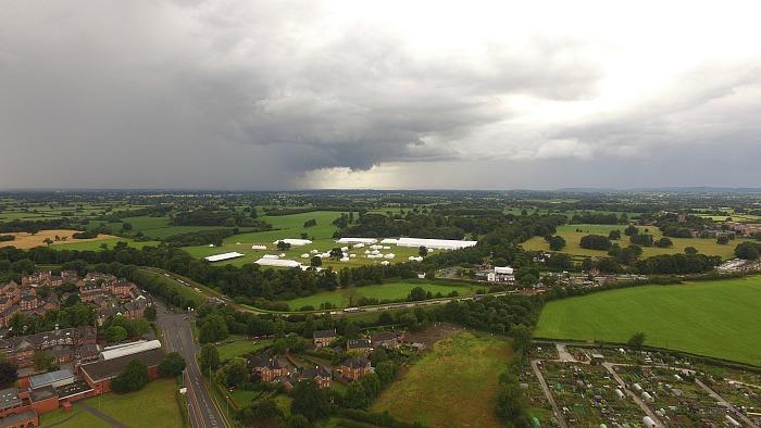 nantwich show aerial pic