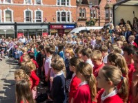 Thousands enjoy Nantwich Fete and SkoolzFest
