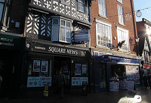 Nantwich Square News - could become new gin bar