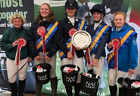 Young riders from Nantwich help scoop British title