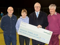 Nantwich Tennis Club nets £3,250 grant to serve up better facilities