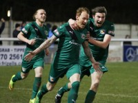 Nantwich Town FA Trophy win over Stourbridge one of biggest in club's history