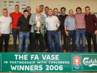 FA Vase winning team returns to Nantwich Town for book launch