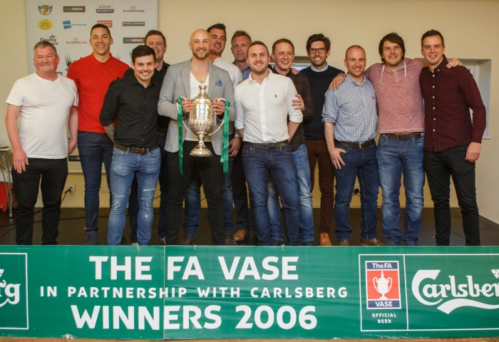 Nantwich Town FA Vase reunion 10 years on