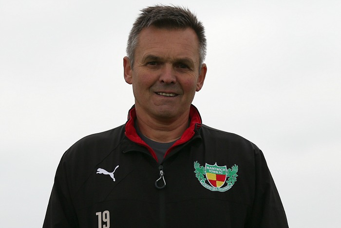 Nantwich Town FC Manager Dave Cooke