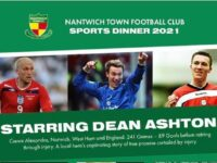 Former Crewe star Dean Ashton to guest at Nantwich Town dinner