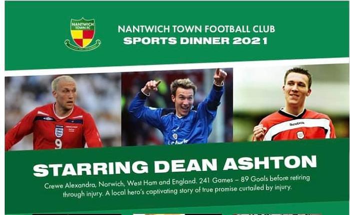 Nantwich Town FC - Sportsmans Dinner - starring Dean Ashton (1)