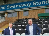 Nantwich Town rename main stand as Swansway Stand