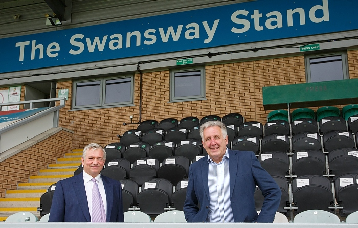 Nantwich Town FC - Swansway main stand