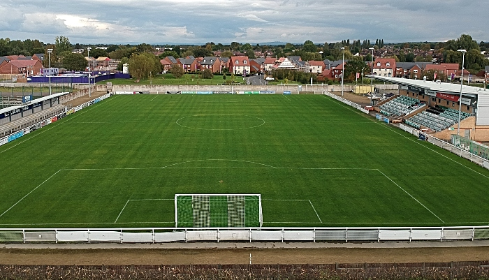 package - Weaver stadium pitch nantwich town