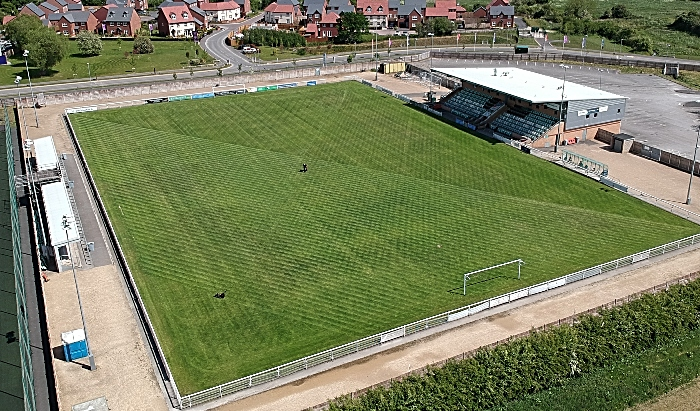 Weaver Stadium - Nantwich Town - 200 Club