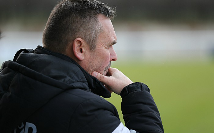 South Shields defeat - Nantwich Town Manager Dave Cooke