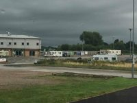 Travellers cause disruption at Nantwich Town's Weaver Stadium