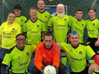 Nantwich Town Wolves Visually Impaired FC runs pan-disability training