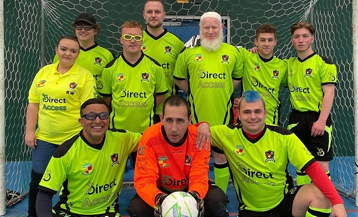 Nantwich Town Wolves Visually Impaired Football Club (1)