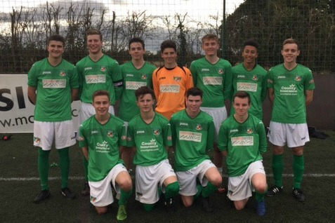 Nantwich Town Youth team 2014-15