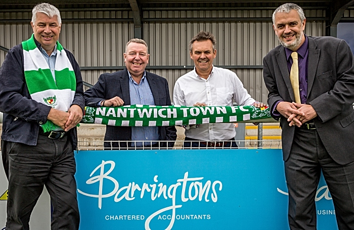 Nantwich Town and Barringtons agree sponsorship deal