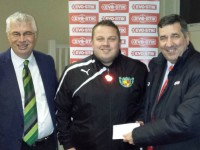 Nantwich Town coach earns bursary for UEFA licence bid