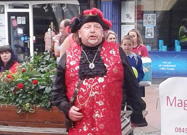 'unofficial' Nantwich Town crier John Parsons