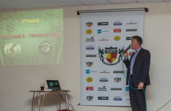 Nantwich Town former manager Steve Davis recalls FA Vase run