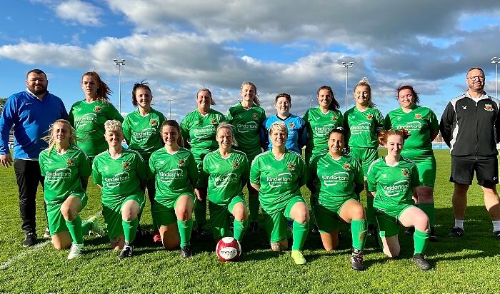 Nantwich Town ladies - promotion