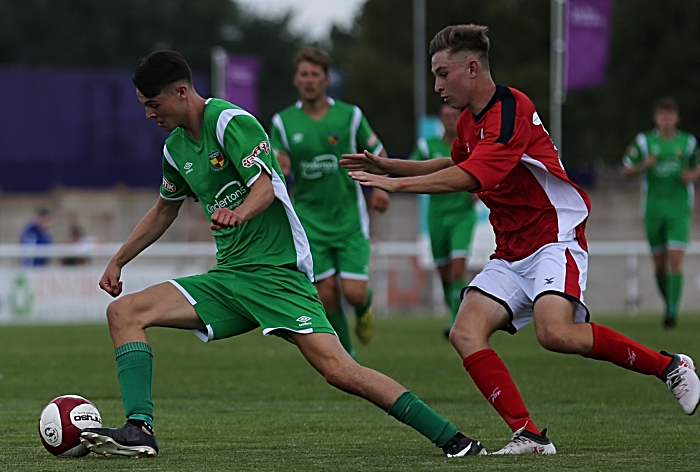 Nantwich Town on the ball (1)