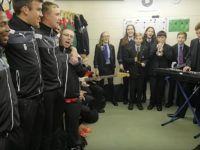 Brine Leas and Nantwich Town team up for new club video