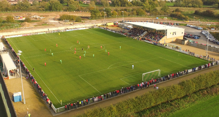 Nantwich Town v Kettering, FA Cup 4th qualifier, Oct 2017