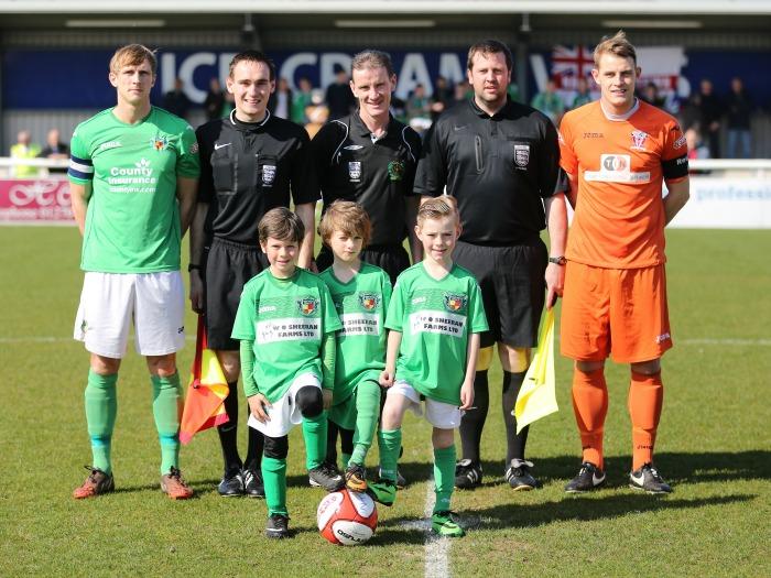 Nantwich Town v Witton Albion, April 2015