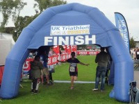 Hundreds take part in North West Triathlon in Nantwich
