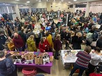 Almost 1,400 attend first Nantwich Vegan Fair