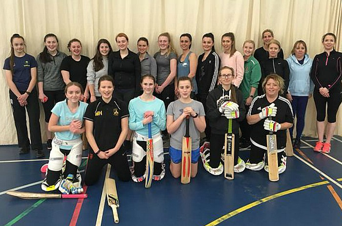 Female team - Nantwich Vipers 2018