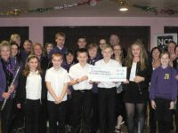 Nantwich Concert Band and Young Voices raise £450 for cancer patients