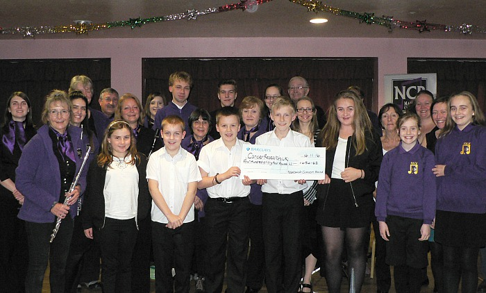 nantwich concert band and nantwich-young-voices-raise-money-for-cancer-research