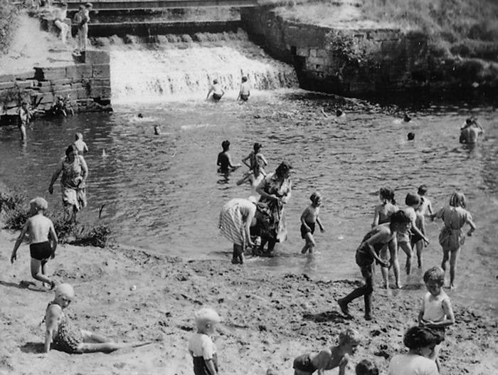 Nantwich at Play circa 1960