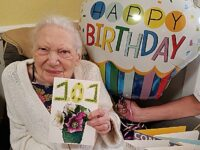 Nantwich care village resident celebrates 101st birthday – with 101 cards!