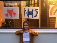 "Nantwich girl receives ""thank you"" note from NHS worker"