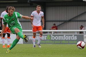 Nantwich Town continue pre-season with 2-1 loss to Blackpool