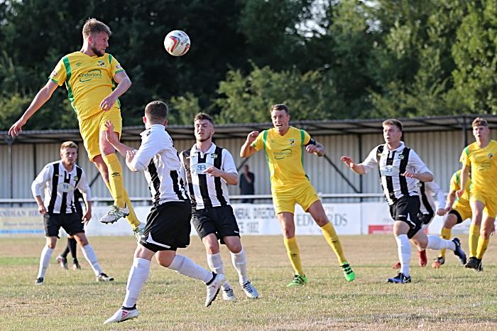Nantwich head towards goal (1)