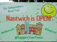 Nantwich retailers reopen from pandemic lockdown