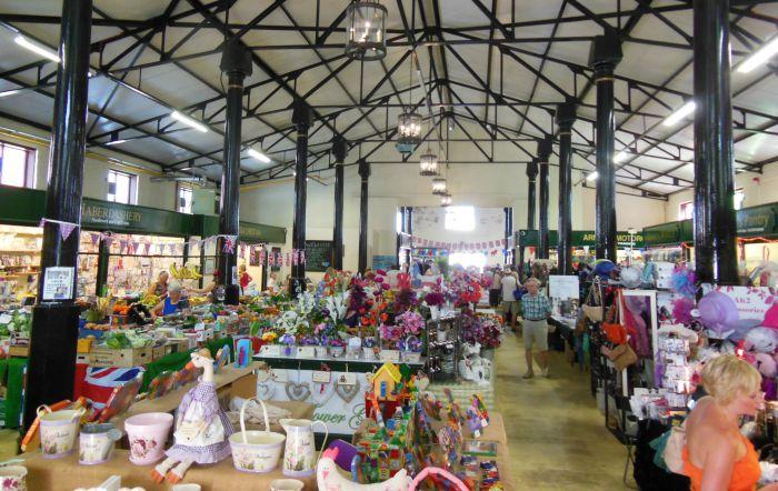 Nantwich market hall, indoor