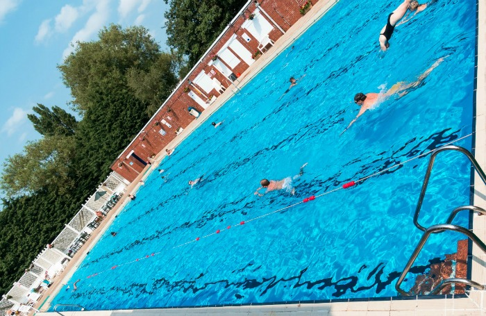 Nantwich outdoor brine pool