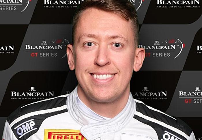 Nantwich racer Jordan Witt for McLaren in GT Championship